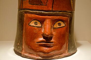 Ceramic vessel Tiwanaku culture 1500 BC-1200 BC Peru