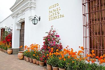Larco Herrera Museum Colonial building Lima Peru