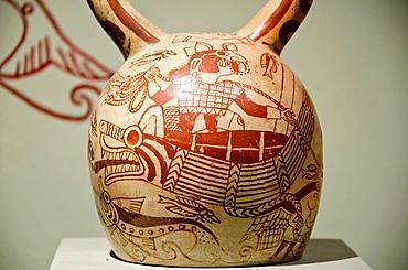 Ceramic vessel Moche culture 100 AC-800 AC Peru