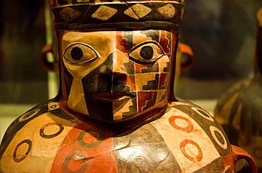Ceramic vessel Wari culture 500AC-1000AC Peru
