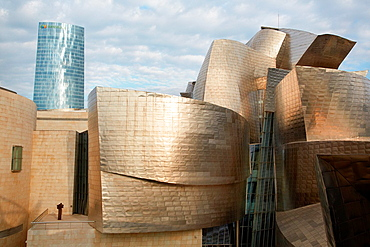 Guggenheim museum, Bilbo-Bilbao, Biscay, Basque Country, Spain.