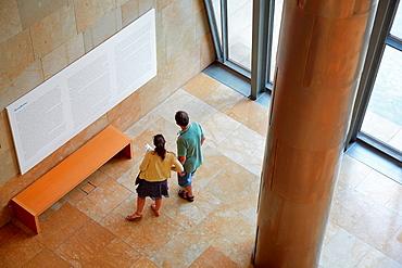 David Hockney ¥A Bigger Picture¥, Guggenheim Museum, Bilbo-Bilbao, Biscay, Basque Country, Spain.