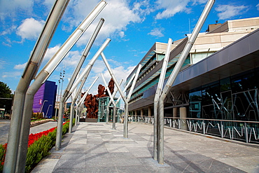 Euskalduna Building, Bilbo-Bilbao, Biscay, Basque Country, Spain.