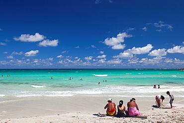 Cuba, Havana Province, Playas del Este, Playa Jibacoa beach, pier