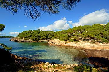 Sa Barca Trencada Parque natural de Mondrago Santanyi Migjorn Mallorca Illes Balears Espana