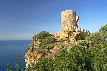 Torre de Es Vergers XVI Banyalbufar Tramuntana Mallorca Baleares Espana