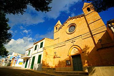 Church of the Mother of God of Carme Mare de Deu del Carme Porto Colom Felanitx Migjorn Spain Baleares Mallorca