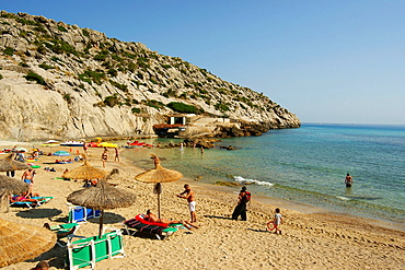 Cala San Vincente, Pollenca, Tramuntana, Mallorca Balearic Islands Spain