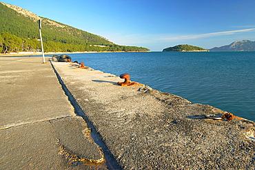 Formentor port and Formentor beach, Pollenca, Peninsula de Formentor Mallorca, Balearic islands, spain