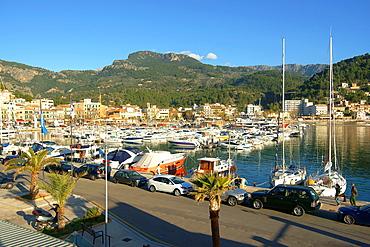 Port de Soller, Tramuntana, Mallorca, Balearic Islands, Spain