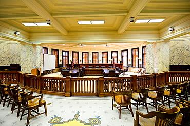 Supreme Court Chamber State Capitol Jackson, Mississippi, United States of America