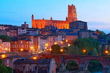 Albi, Cathedral of Saint Cecilie, Tarn, Midi-Pyrenees, France, Europe.