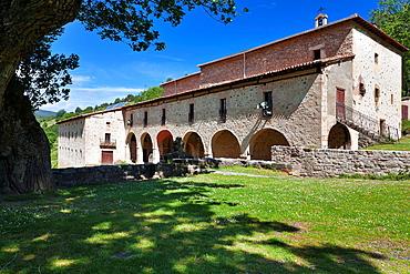 The Virgen de Lomos de Orios hermitage Villoslada de Cameeros Logrono La Rioja Spain