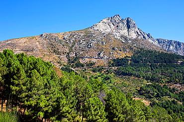 The Torozo peak in the Sierra de Gredos avila Castilla Leon Spain