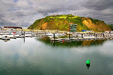 Sporting seaport in Laredo Santander Cantabria Spain