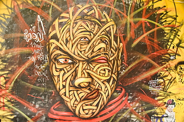 Street Art, A Thriving Alternative Subculture In Berlin, Germany