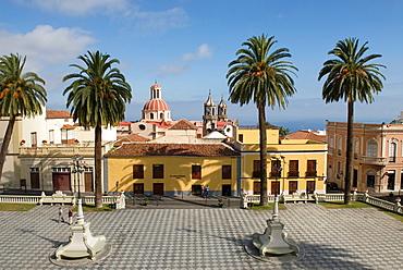 City Hall Square, La Orotava, Tenerife, Canary Islands, Atlantic Ocean