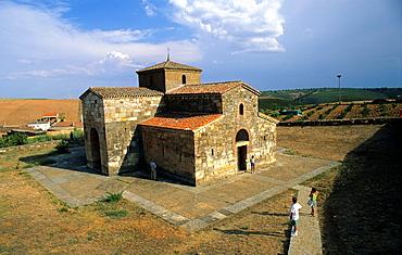 Visigoth Church San Pedro de la Nave Zamora Spain