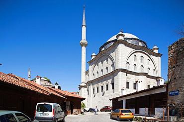 Asia, Turkey, Central Anatolia, Ancient Town Of Safranbolu, View With Izzet Pasa Camii