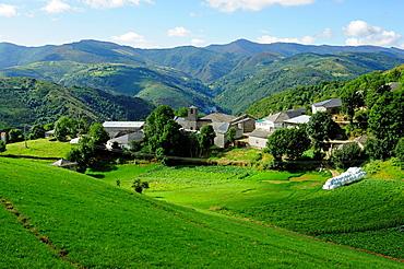 San Lourenzo de Pacios, Pedrafita do Cebreiro, Lugo, Galicia, Spain