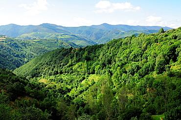 O Courel mountain range Lugo, Galicia, Spain