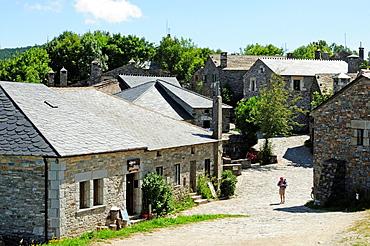 Village of O Cebreiro, pilgrim¥s entrance to Galicia in the Saint Jame¥s way