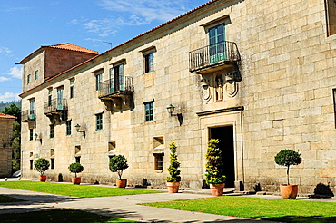 Monastery of San Juan de Poio, Pontevedra, Galicia, Spain
