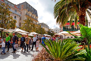 Place Bellavue Biarritz Aquitaine France Basque Country, Pyrenees Atlantiques, 64, Europe