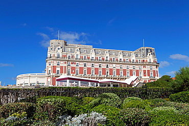 Hotel du Palais, Biarritz, Aquitaine, Basque Country, Pyrenees Atlantiques, 64, France