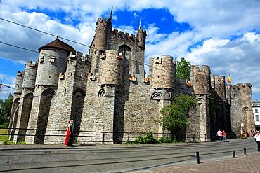 Gravensteen, Castle of the Counts, Ghent, Belgium