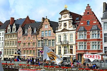 City centre, Ghent, Belgium