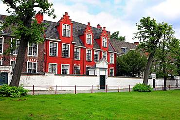 Small beguinage, Ghent, Belgium