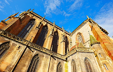 Saint Martin¥s collegiate church, Colmar, Alsace, France