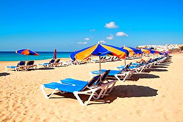 Beach of Morro Jable Fuerteventura