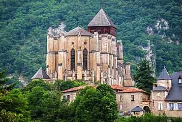 Cathedral Notre-Dame de Saint-Bertrand-de-Comminges, Midi-Pyrenees, France