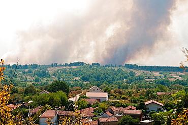 Forest fires near Mostar, Bosnia and Herzegovina