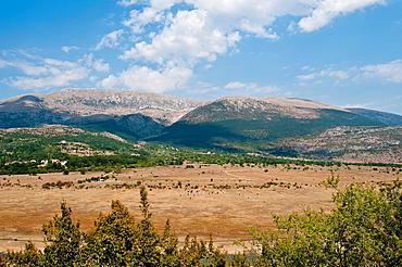 Landscape near Busko lake, Western herzegovina, Bosnia and Herzegovina