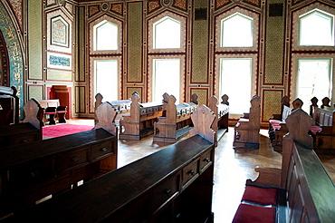Pews, Ashkenazi synagogue, Sarajevo, Bosnia and Herzegovina