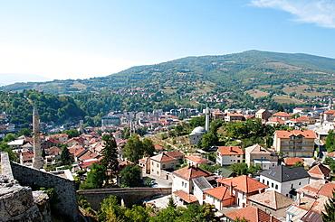 View of old Travnik, Bosnia and Herzegovina