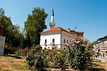 Mosque in central Travnik, Bosnia and Herzegovina