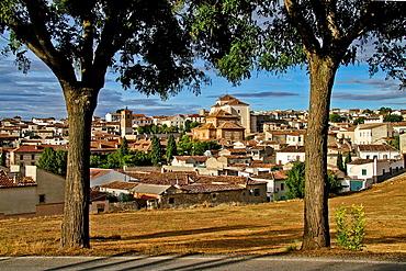 Cinchon general panoramic view, Madrid, Spain