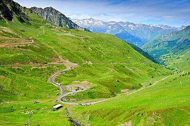 Col du Tourmalet Park National des Pyrenees Francia.