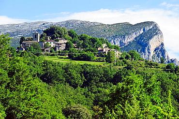Puertolas Comarca de Sobrarbe Pirineos Huesca.