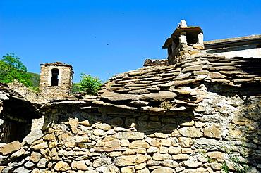 Escuain Comarca de Sobrarbe Pirineos Huesca.