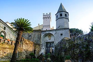 Villa Cimbrone, Ravello, Amalfi coast, Costiera Amalfitana, Province of Salerno, Campania, Italy, Europe