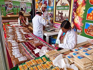 Mistura food fair in Lima