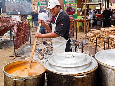 Mistura food fair in Lima Peru
