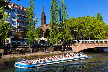 Batorama sight-seeing boat Strasbourg Alsace France