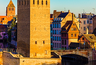Ponts Couverts bridge tower Strasbourg Alsace France