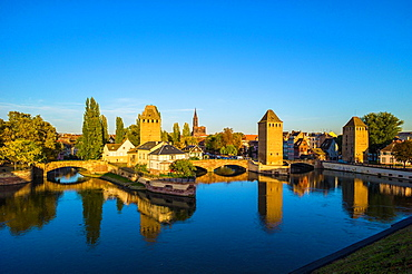 Ponts Couverts bridge Strasbourg Alsace France